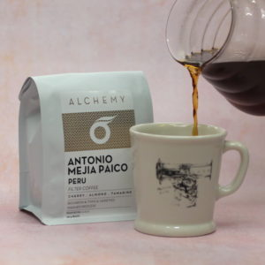 Peru Antonio Meija Paico filter coffee