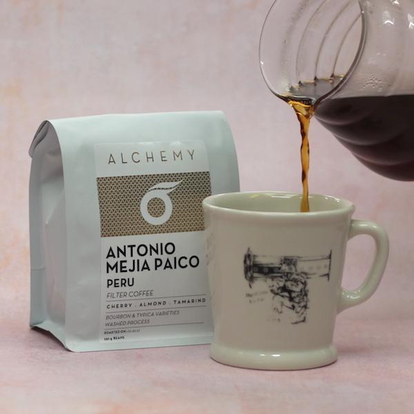 Peru Antonio Meija Paico filter coffee