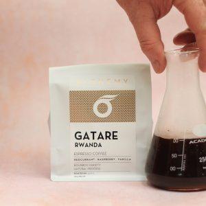 Rwanda GATARE espresso coffee